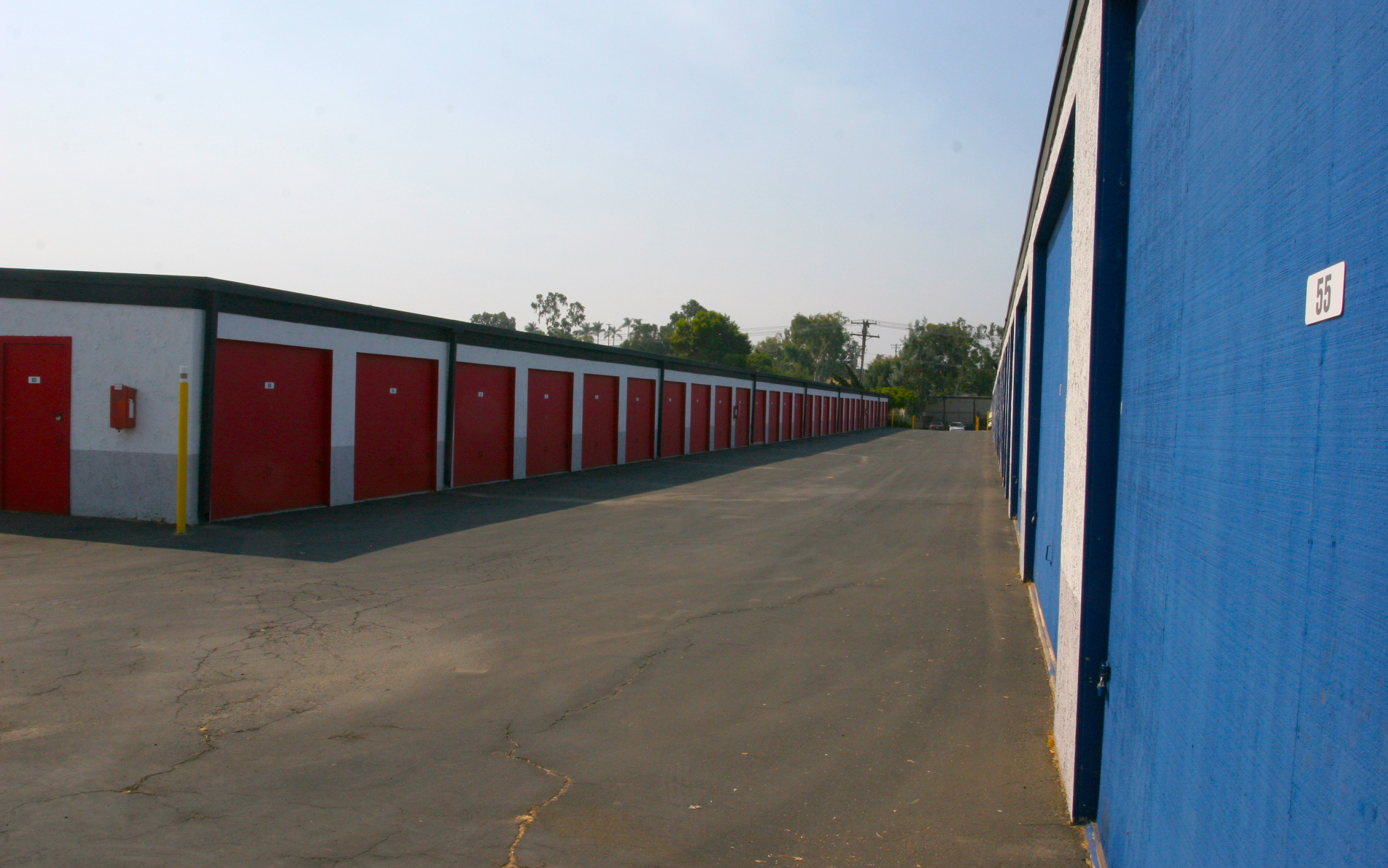 Storage units in Lakeside at SuperStorage
